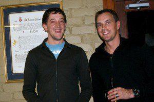Ben Winter and Brett McFarlane