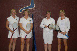 Jenni Murphy, Jo Edwards, Elizabeth Williams and Wendy WHitehead Ladies Doubles Finalists