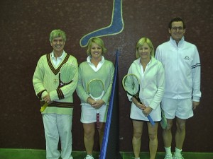 Spring, Edwards, Whitehead and Parker Mixed Doubles Finalists