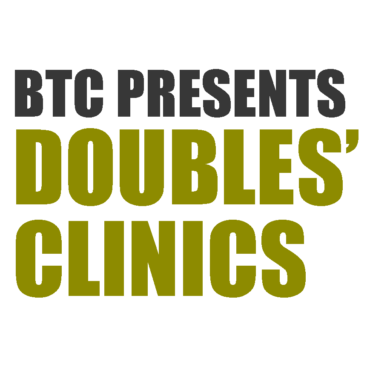 Doubles Clinics 2020 – Back by Popular Demand!